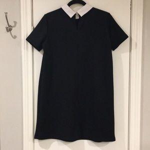 Zara Dresses - Zara Embroidered Shift Dress - M